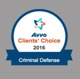 Avvo Criminal Defense Award Neil Taylor