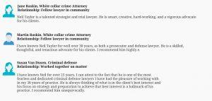 Criminal trial defense lawyer